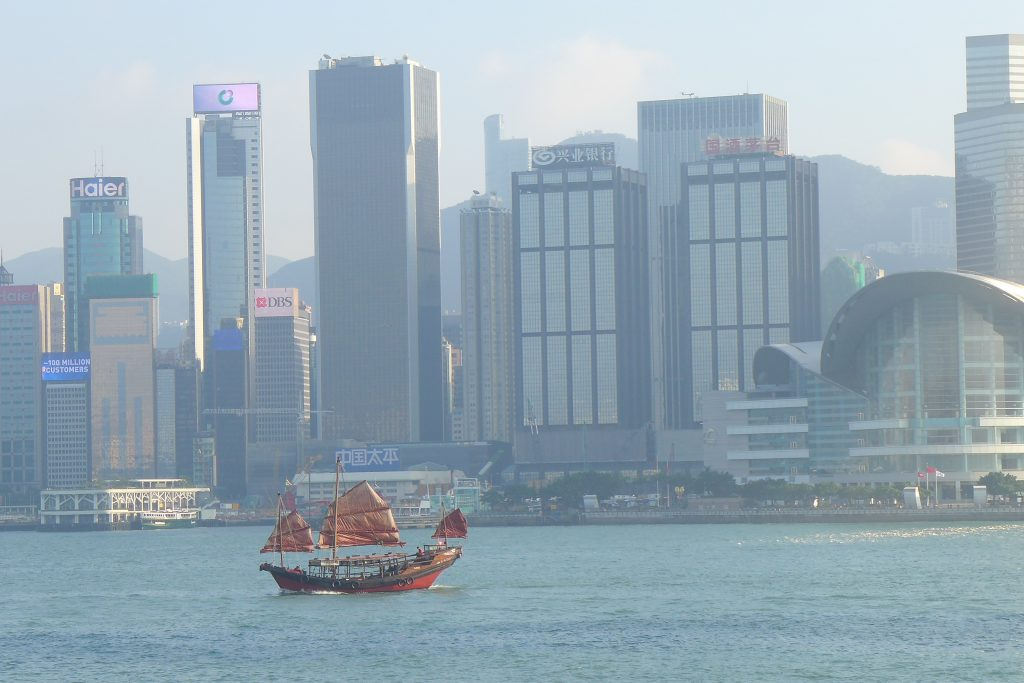 The Old and New in Hong Kong