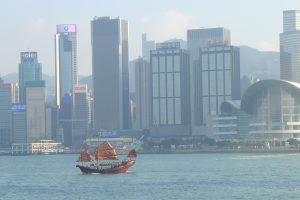 The Old and the New In Hong Kong